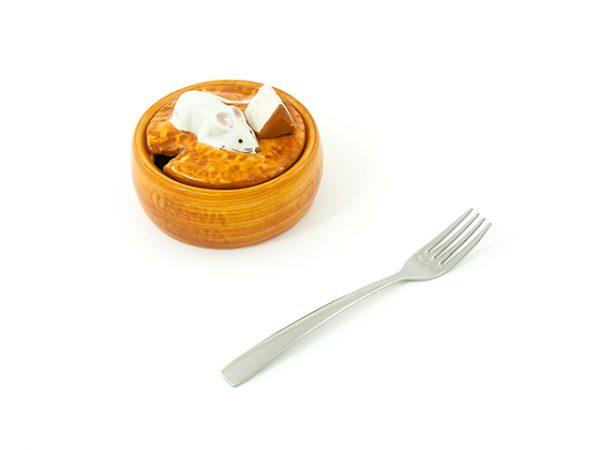 formaggera-topolino-ceramica