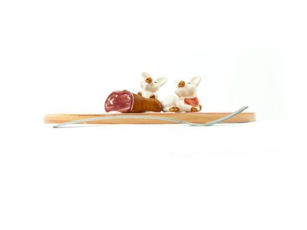 tagliere-ceramica-maialino