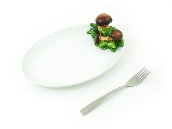 vassoio-ovale-ceramica-funghi