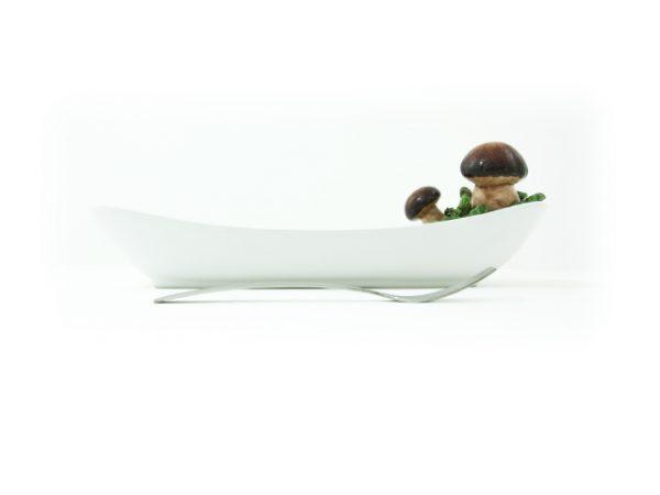 vassoio-ceramica-funghi