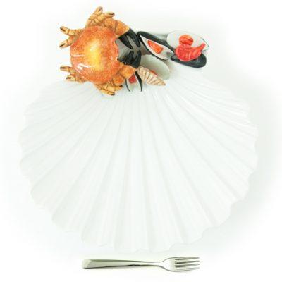 vassoio-pesce-ceramica-capasanta