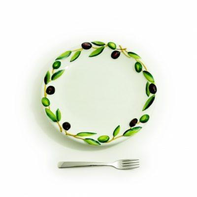 piatto-ceramica-medio-olive
